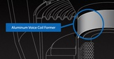 Anodized Aluminum Voice Coil Former